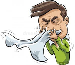 Частое чиханье, лечение в Шали
